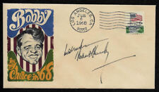 Robert F Kennedy RFK Bobby 1968 Campaign Ltd Edt Collector Envelope OP1310
