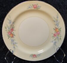 "Homer Laughlin Eggshell Nautilus Ferndale Bread Plate 6 1/8"" MINT"