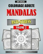 Coloriage Adulte Mandalas Anti-Stress: Coloriage Adulte Mandalas Anti-Stress...