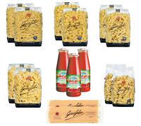 GAROFALO FAMILY BOX KIT 12 CONFEZIONI DI PASTA DA 500gr + 3 PASSATA DI POMODORO