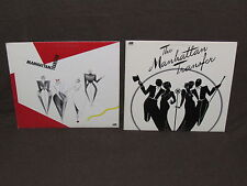 THE MANHATTAN TRANSFER 2 LP RECORD ALBUMS LOT COLLECTION Extensions/Self 1975