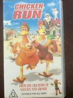 Chicken Run From The Creators Of Wallace And Gromit VHS Tape (VHS3)