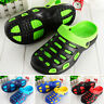 Men's Casual Beach Hole Sandals Slip On Slippers Summer Breathable Clogs Shoes