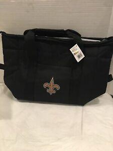 NFL New Orleans Saints Soft Sided 12-Pack Kooler Bag