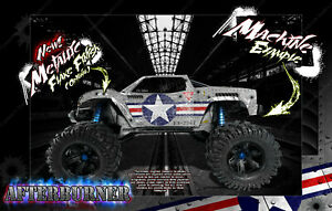 TRAXXAS X-MAXX WRAP AFTERBURNER FITS STOCK PRO-LINE BRUTE BASH RAPTOR CHEVY BODY