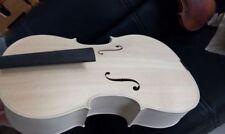 Hand made White Cello 4/4 size 1724 Yo Yo Ma model flamed maple back