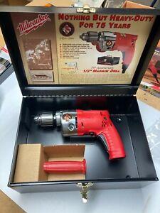 Milwaukee 75th Anniversary Magnum Drill 0236-75 NEW in box! RARE Serial #49 !