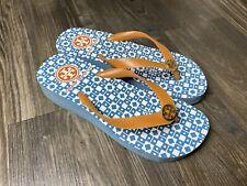 Tory Burch Women's Wedge Pattern Flip Flops - Size 7