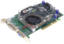 CLUB 3D NVIDIA GEFORCE 6600GT CGN-G668TVD AGP 128MB GDDR3