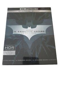 Il Cavaliere Oscuro La Trilogia 4K ULTRA HD + BLU RAY NUOVO SIGILLATO ITALIANO