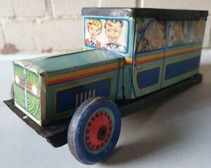 AMT ~ Vintage 1960s Romanian Tin Toy ~ CAR Money Box ~ Made in Romania ~ RARE