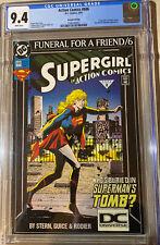 Action Comics #686 CGC 9.4 Supergirl Superman DCU LOGO Varaint