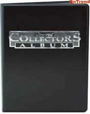 Ultra Pro Collectors Album Black 4 Pocket Portfolio With 10 Pages Holds 80 Cards