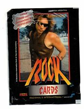 1 ENVELOPE  BON JOVI ROCK CARDS AND STICKERS ARGENTINA 1997