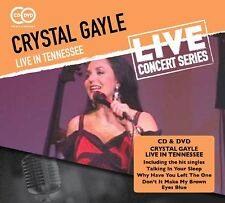 CRYSTAL GAYLE - LIVE IN TENNESSEE  CD+DVD NEW!