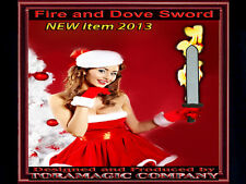 Fire & Dove Sword - by Tora Magic Company - Dove Appears From Flaming Sword!