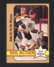 1972-73 OPC BOBBY ORR #58 NHL ACTION VG-EX (REF 11079)
