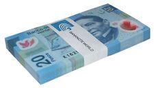 Mexico 20 Pesos X 100 Pieces (PCS), 2013, P-122, UNC, Series-X, Bundle, Pack