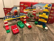 Lego Duplo Disney Cars Set 5819 Tokyo Racing With Box & Instructions COMPLETE