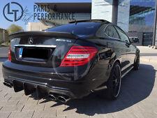 Echt Carbon BIG Spoiler Abrisskante Hecklippe für Mercedes-Benz C W204 C204 AMG