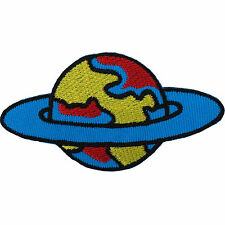 Planet Patch Iron / Sew On Badge Embroidered Space Nasa Star Embroidery Applique