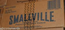 Smallville Season 1 inkworks Sealed Case 10 Box Lot Auto Costume Trading Cards