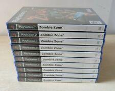 10 x ZOMBIE ZONE PS2 NUOVO PAL EU  PLAYSTATION 2 SIGILLATO PERFECT UK FR IT