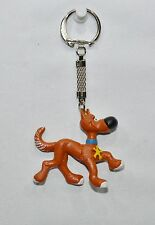 RANTANPLAN Lucky Luke chien porte-clé plastique 5.3x1.8x4.6 cm