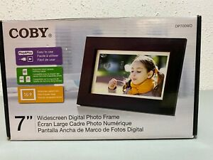 "Coby Widescreen 7"" Digital Photo Frame"