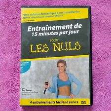 dvd entrainement de 15 minutes par jour pour les nuls