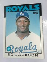 1986 Topps Traded Bo Jackson #50T RC Royals Rookie
