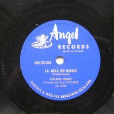 CHARLES TRENET La java du diable / ...music-hall CANADA '50s ORIG 78 FRENCH