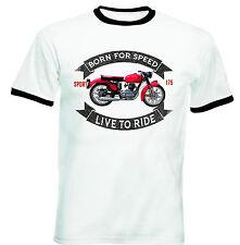 GILERA 175 Sport 1956-nueva Camiseta Algodón-todos Los Tamaños En Stock
