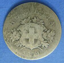 1851 Zwitserland Switzerland - 20 Rappen 1851 BB Strasbourg -  KM# 7 - Rare!