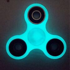Luminous Cyan Glow In The Dark Hand Spinner EDC Stuffer Fidget Focus Focus Toy