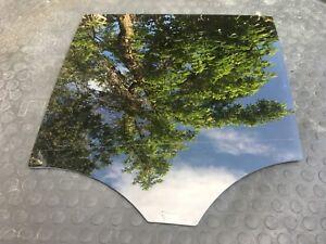 MERCEDES BENZ ML350 DOOR WINDOW GLASS REAR LEFT BLACK