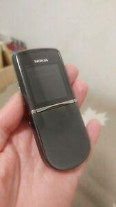 Nokia 8800 Sirocco Edition - Black (Unlocked) .Genuine Made in Germany