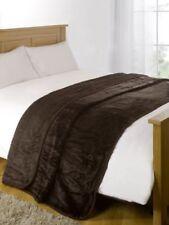 Couvertures traditionnels marrons pour le lit, pour chambre
