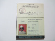 ADAL-JIBARO-BLUEPRINTS FOR A NATION-RARE PUERTO RICO ART PAPERBACK BOOK-SIGNED-