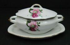 VTG Tilso Hand Painted Floral Sugar Bowl Japan