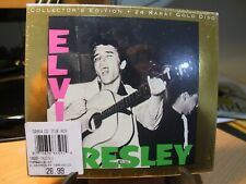 24K Gold CD RCA 666592-2 Elvis Presley: S/T Sealed