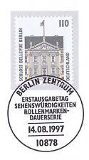 BRD 1997: Schloß Bellevue Berlin Nr. 1935 mit Berliner Ersttagsstempel! 1A! 1610