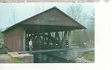 Duck Creek Aqueduct  Metamora IN  Chrome Postcard 247