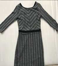 Black dress With Grey glitter For Party