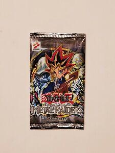 Yu-Gi-Oh! Metal Raiders Factory Sealed Booster Pack