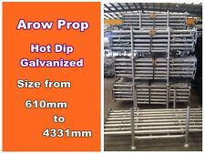 New Galvanized Acrow Prop Size #1 1618mm to 2621mm Australian Standard