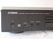 Yamaha Natural Sound Compact Disc Player CD-S300 mit Zubehör