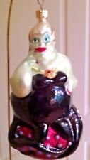 "Christopher Radko/Disney ""URSULA"" From The Little Mermaid Ornament NIB"