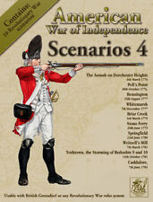 AMERICAN WAR OF INDEPENDENCE SCENARIOS 4 - PARTIZAN PRESS - AWI