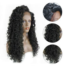Glueless Virgin Human Hair Wig curly Full Lace Wig Lace Front Wig  for women